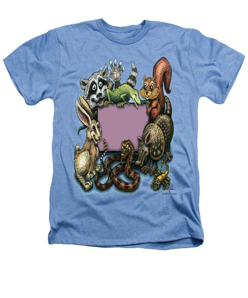 Critters Heathers T-Shirt by Kevin Middleton