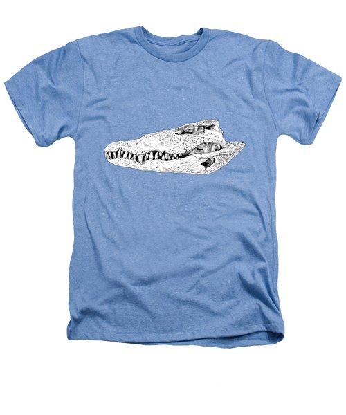 Crocodile Skull Heathers T-Shirt
