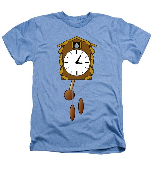 Cuckoo Clock Heathers T-Shirt by Miroslav Nemecek