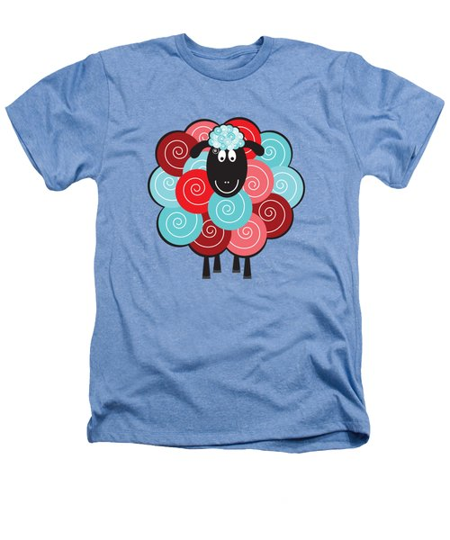 Curly The Sheep Heathers T-Shirt by Natalie Kinnear