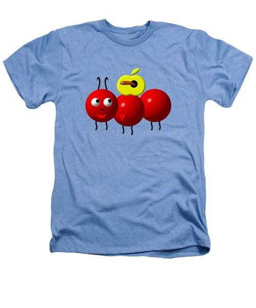 Cute Ant With An Apple Heathers T-Shirt