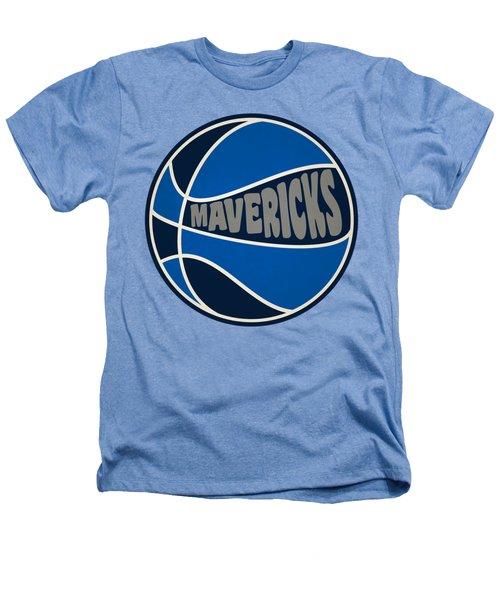 Dallas Mavericks Retro Shirt Heathers T-Shirt by Joe Hamilton