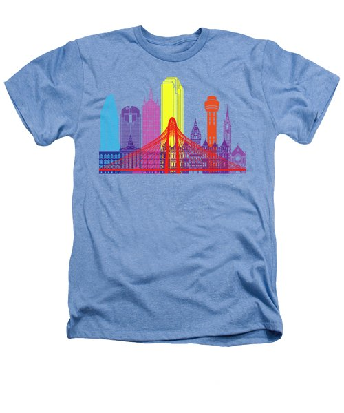 Dallas Skyline Pop Heathers T-Shirt