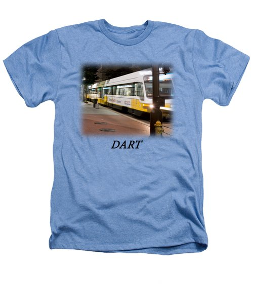 Dart V2 T-shirt Heathers T-Shirt by Rospotte Photography