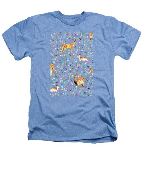Deers Heathers T-Shirt by Uma Gokhale