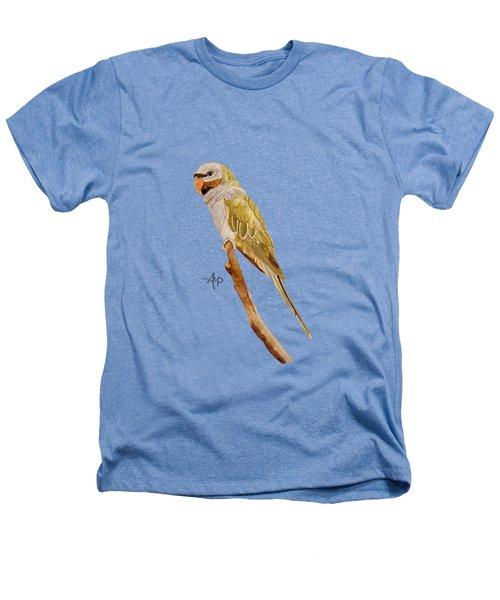 Derbyan Parakeet Heathers T-Shirt by Angeles M Pomata