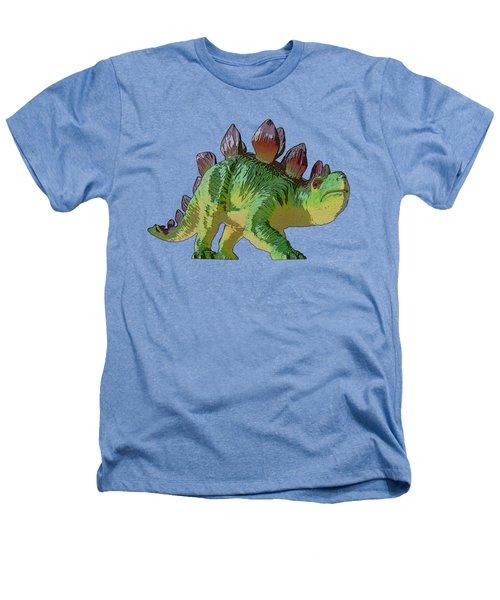 Dino Stegosaurus Heathers T-Shirt by Miroslav Nemecek