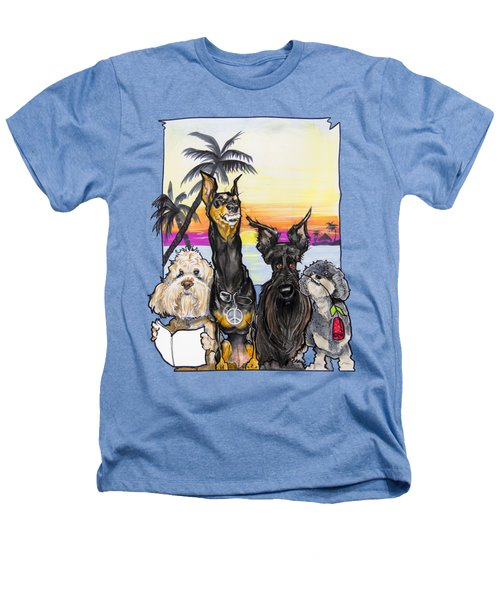 Dog Island Getaway Heathers T-Shirt