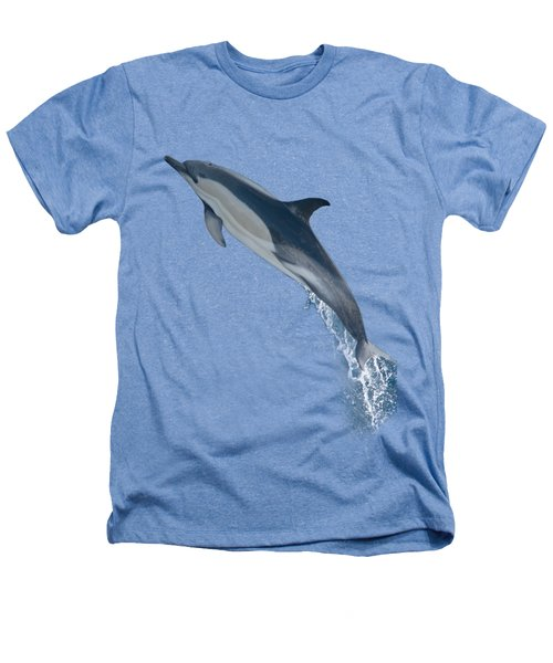 Dolphin Leaping T-shirt Heathers T-Shirt