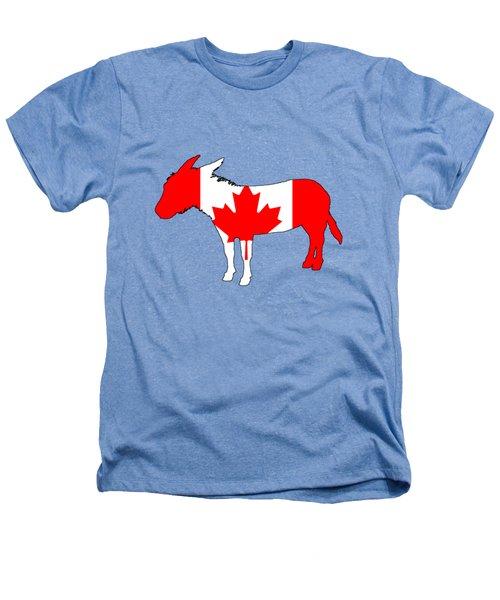 Donkey Canada Heathers T-Shirt by Mordax Furittus