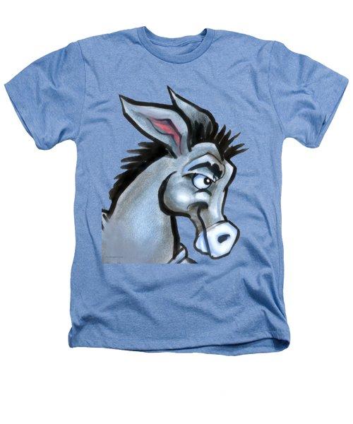 Donkey Heathers T-Shirt by Kevin Middleton