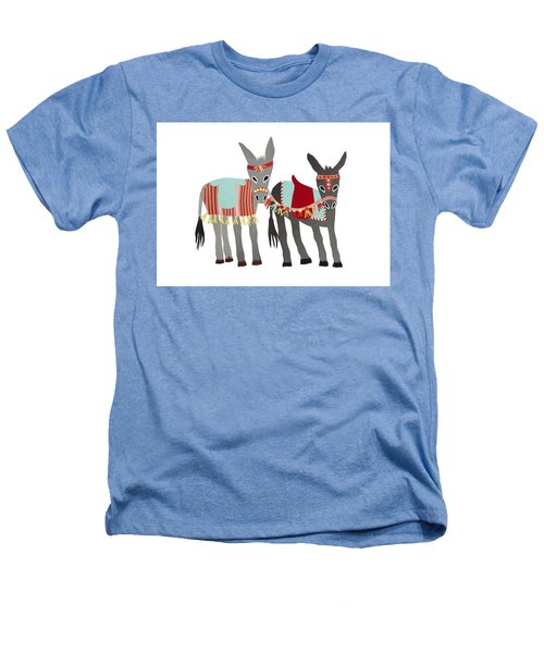 Donkeys Heathers T-Shirt by Isoebl Barber