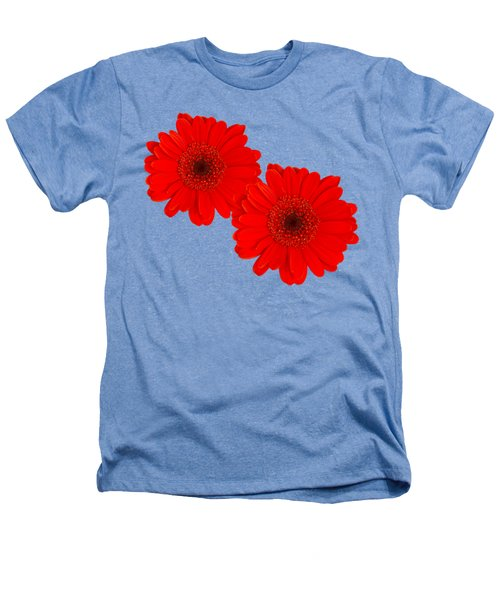 Double Gerbera Heathers T-Shirt by Scott Carruthers