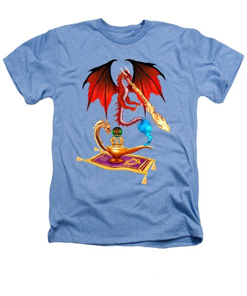 Dragon Genie Heathers T-Shirt by Glenn Holbrook