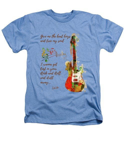 Drift Away Heathers T-Shirt by Nikki Marie Smith