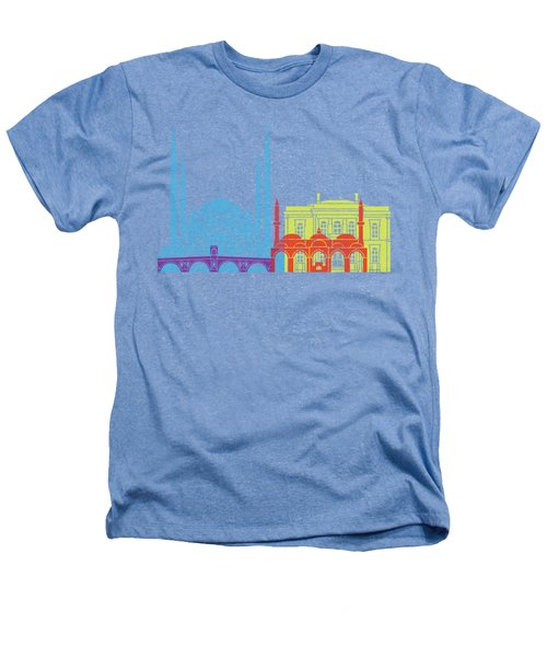 Edirne Skyline Pop Heathers T-Shirt