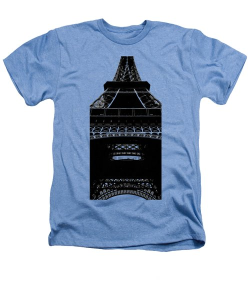 Eiffel Tower Paris Graphic Phone Case Heathers T-Shirt by Edward Fielding