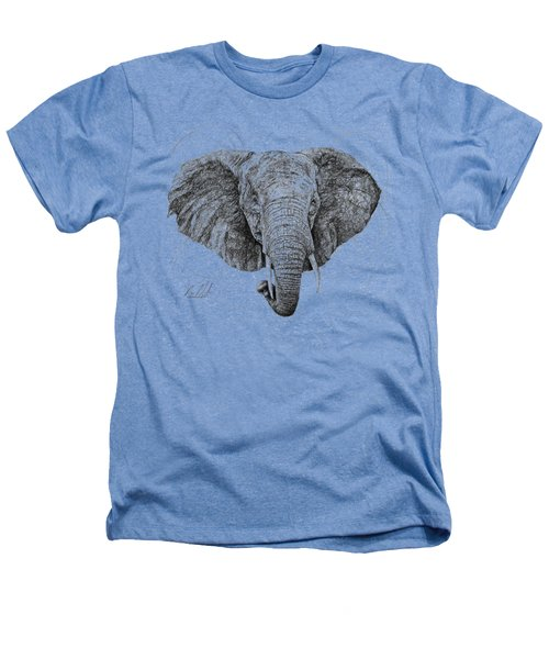 Elephant Heathers T-Shirt by Michael Volpicelli