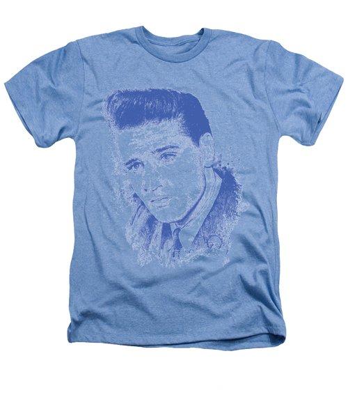 Elvis Presley Portrait Heathers T-Shirt