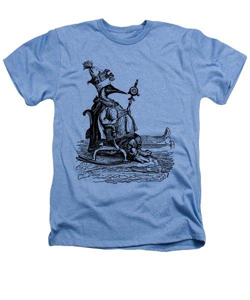 Empire Penguin Grandville Transparent Background Heathers T-Shirt