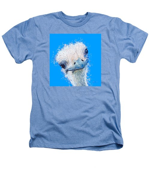 Emu Painting Heathers T-Shirt by Jan Matson
