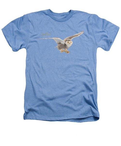 eRegal Studio Snowy Owl graphic Heathers T-Shirt
