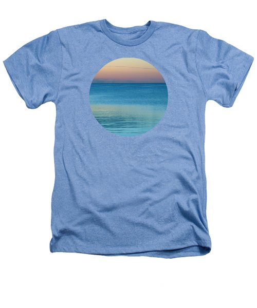 Evening At The Lake Heathers T-Shirt by Mary Wolf