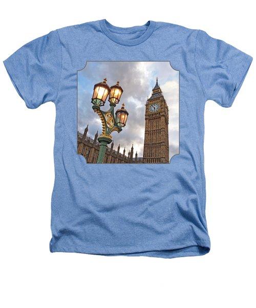 Evening Light At Big Ben Heathers T-Shirt by Gill Billington
