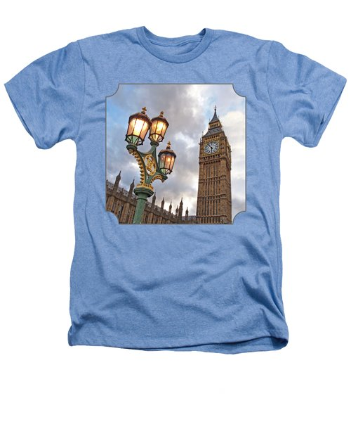 Evening Light At Big Ben Heathers T-Shirt