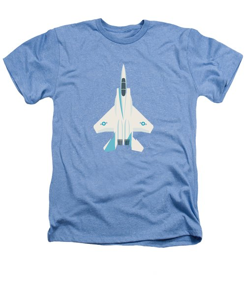 F15 Eagle Fighter Jet Aircraft - Sky Heathers T-Shirt