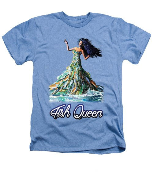 Fish Queen Heathers T-Shirt by Anthony Mwangi