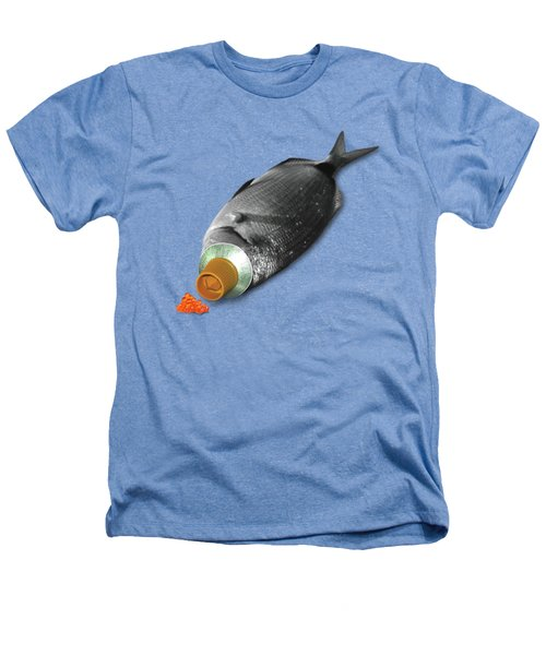 Fish Tube Heathers T-Shirt by Ralph Klein