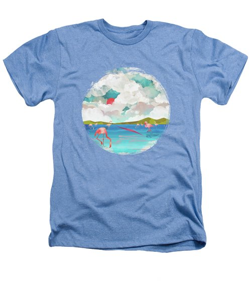 Flamingo Dream Heathers T-Shirt