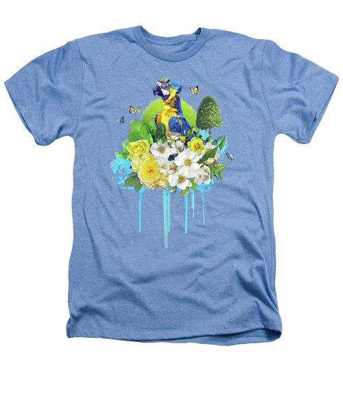 Floral Parrot Heathers T-Shirt