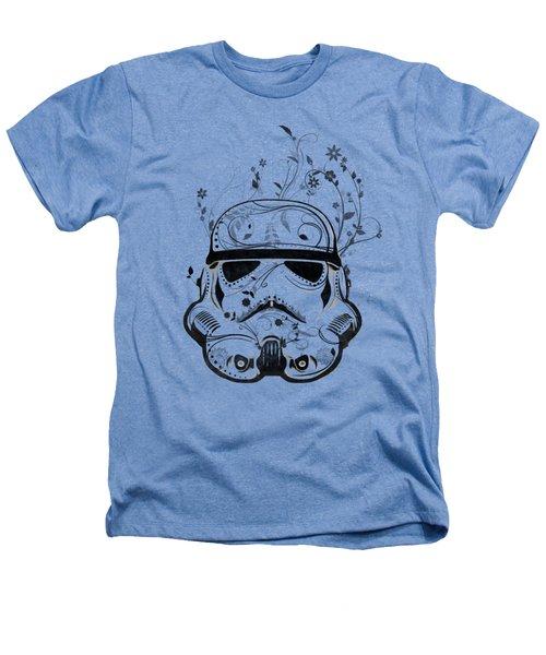 Flower Trooper Heathers T-Shirt by Nicklas Gustafsson