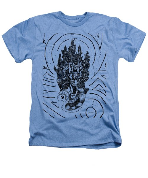 Flying Castle Heathers T-Shirt