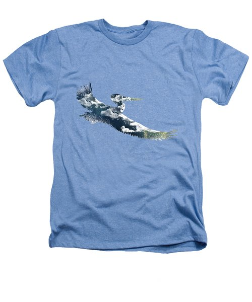 Flying Pelican Heathers T-Shirt