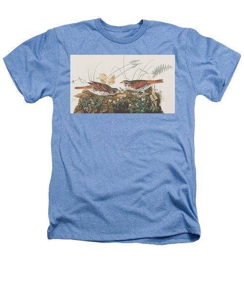 Fox Sparrow Heathers T-Shirt by John James Audubon