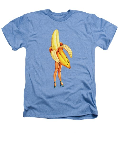 Fruit Stand - Banana Heathers T-Shirt by Kelly Gilleran