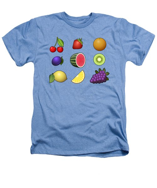 Fruits Collection Heathers T-Shirt