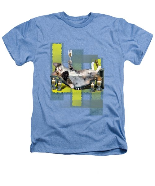 Funny Pet Print With A Tipsy Kitty  Heathers T-Shirt