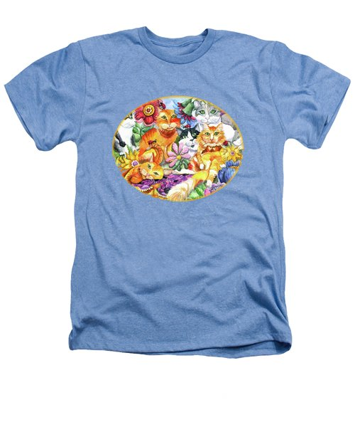 Garden Party Heathers T-Shirt by Shelley Wallace Ylst