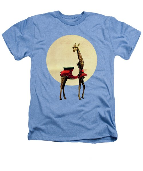 Giraffe Heathers T-Shirt by Ali Gulec