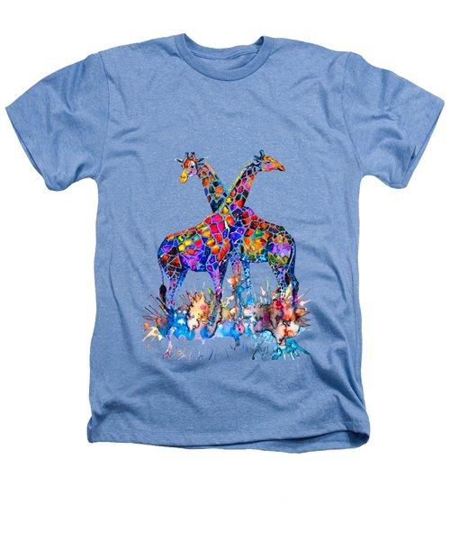 Giraffes Heathers T-Shirt