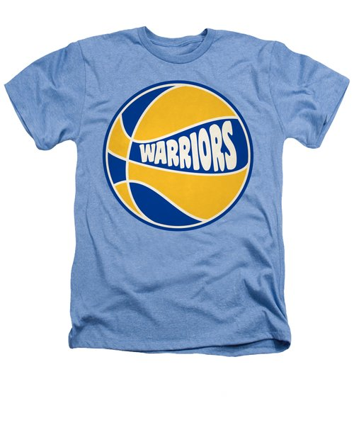 Golden State Warriors Retro Shirt Heathers T-Shirt by Joe Hamilton