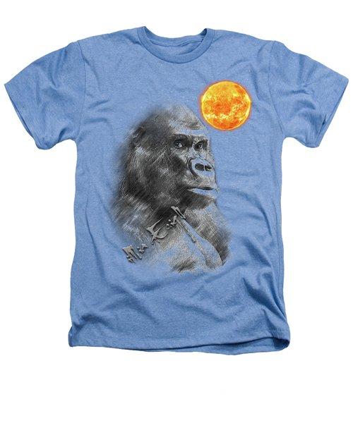 Gorilla Heathers T-Shirt by iMia dEsigN
