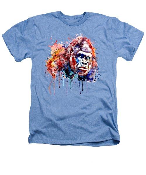 Gorilla Heathers T-Shirt by Marian Voicu