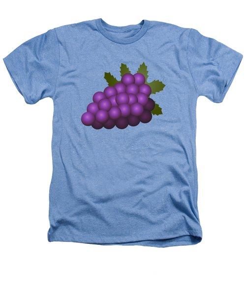 Grapes Fruit Heathers T-Shirt