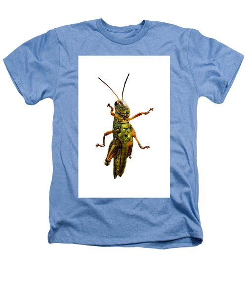 Grasshopper II Heathers T-Shirt by Gary Adkins