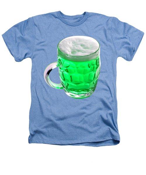Green Beer Heathers T-Shirt by Stephanie Brock